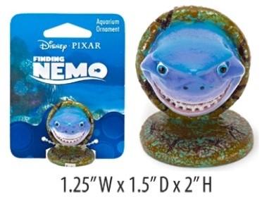 Aquariumornament Disney Bruce uit Finding Nemo