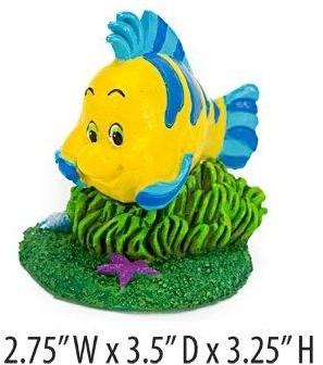 Aquariumornament Disney Flounder uit de kleine zeemeermin
