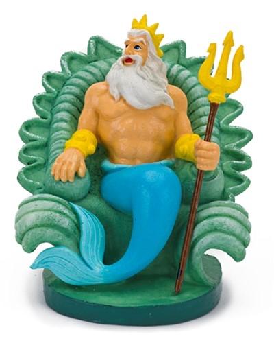 Aquariumornament Disney Koning Triton uit de kleine zeemeermin