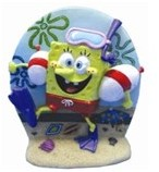 Aquariumornament Spongebob Duiken
