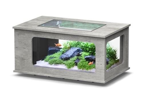 Aquatlantis Aquarium Tafel beton 130x75x57 cm
