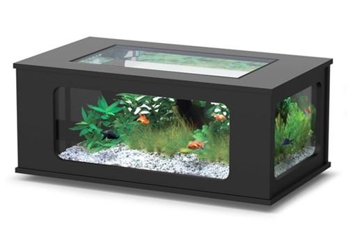 Aquatlantis Aquarium Tafel zwart 130x75x57 cm kopen?-2