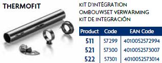 Eden 521 Thermofit kit