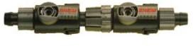 Eheim 2 kranen met snelkoppeling voor slang 9-12 mm