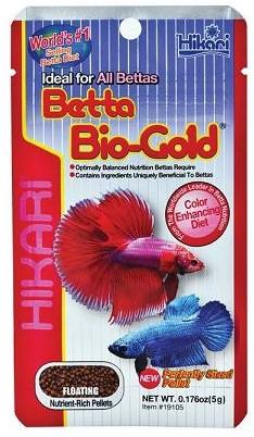 Hikari Betta Biogold - 5 gram - over de datum