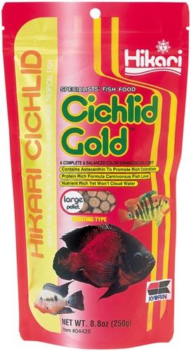 Hikari Cichlid Gold Large - 250 gram - over de datum