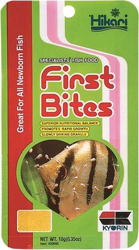 Hikari First Bites - 10 gram - over de datum