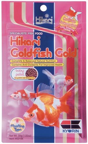 Hikari Goldfish gold baby - 100 gram - over de datum