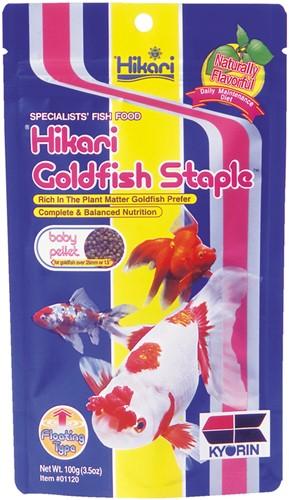 Hikari Goldfish Staple Baby - 100 gram - over de datum