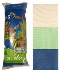 HS Aqua watten blauw 250 gram