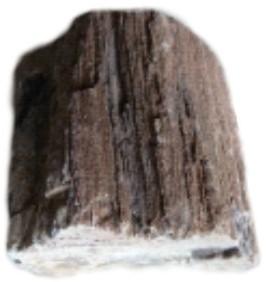 HS Aqua Deco steen Wood Stone Brown 20 kilo