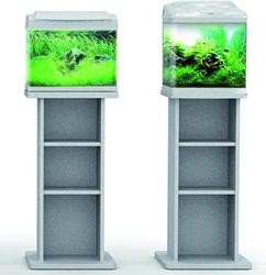 Aquarium Meubel Aqua 20-30-40 zilver