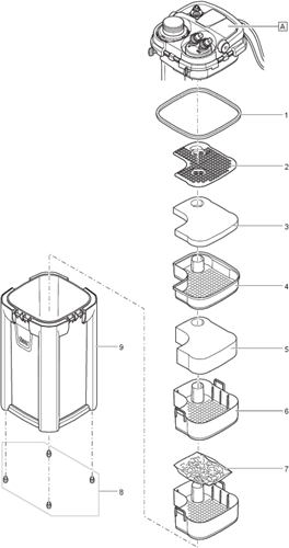 Oase BioMaster 250 onderdelen