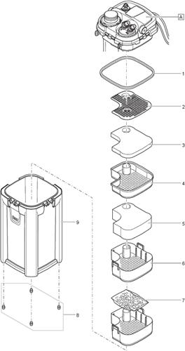 Oase BioMaster 350 onderdelen
