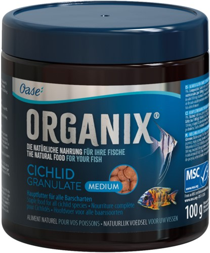 ORGANIX Cichlid Granulate M 250 ml