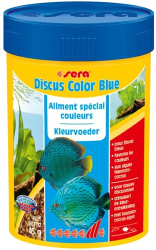 Sera Discus Color Blue
