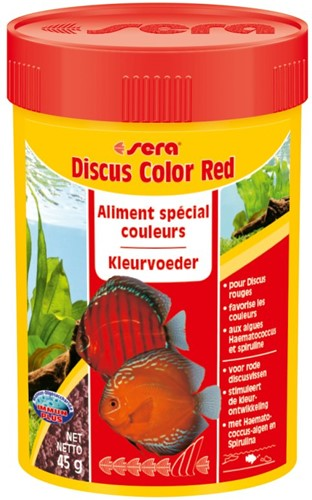 Sera Discus Color Red