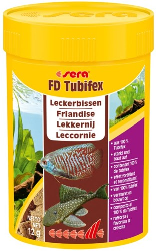 Sera FD Tubifex 250 ml