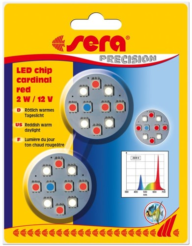 Sera LED chip cardinal red