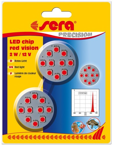Sera LED chip red vision