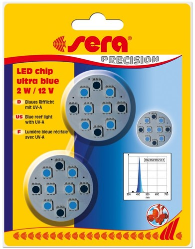 Sera LED chip ultra blue