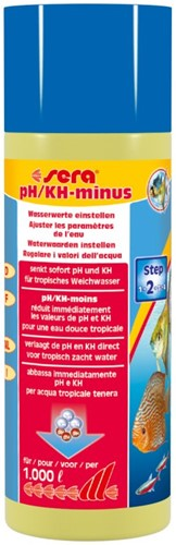 Sera pH/KH-minus - 250 ml