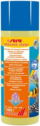 Sera phosvec-clear - 250 ml
