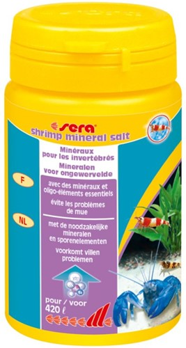 Sera shrimps mineral salt - 105 gr