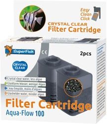 Superfish Aqua-Flow 100 Crystal Clear cartridge