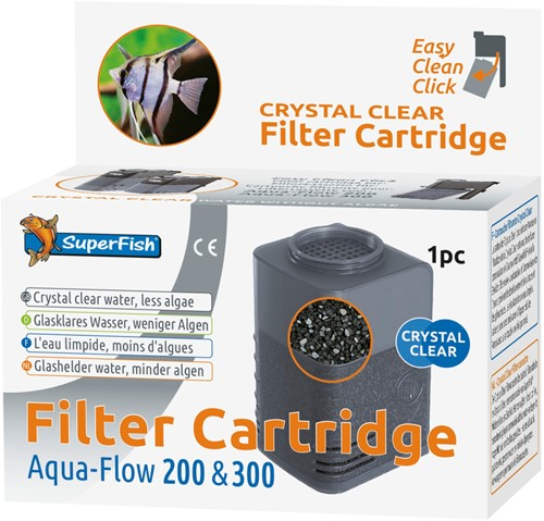 Superfish Aqua-Flow 200 Crystal Clear cartridge