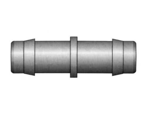 Slangverbindingsstuk zwart 9-12 mm