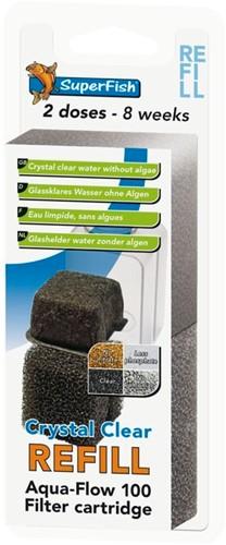 Superfish Aqua-Flow 200 crystal clear refill