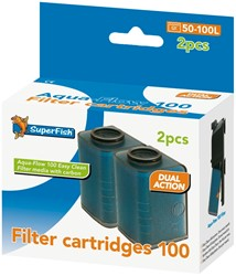 Superfish Aqua-Flow 100 Easy Click Filter Cartridges