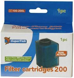 Superfish Aqua-Flow 200 Easy Click Filter Cartridges