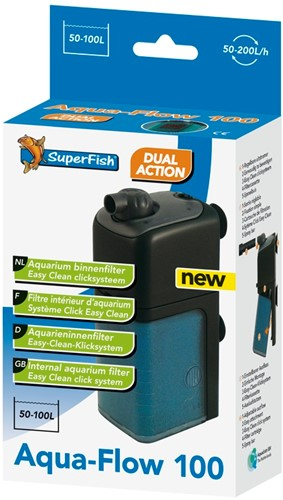 Superfish Aqua-Flow 100 binnenfilter