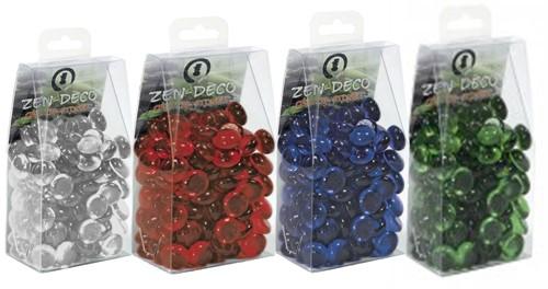 Zen Deco Crystal Stones Rood