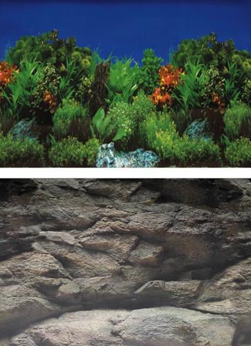 Superfish Aquarium Deco Poster B 60 x 30 cm