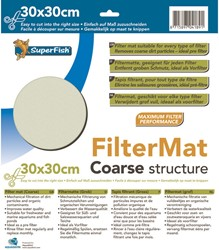 Superfish Filtermat grof 30 x 30 cm 30 x 30 cm