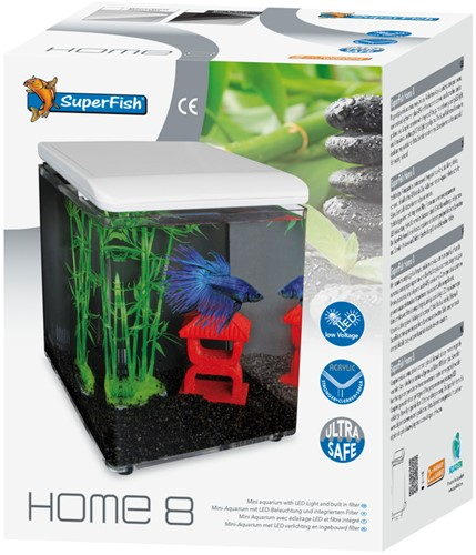 Superfish Home 8 zwart