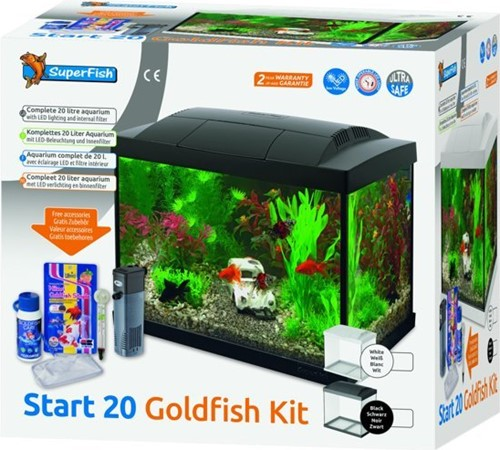 Superfish Start 20 Goldfish kit wit