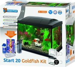 Superfish Start 20 Goldfish kit zwart