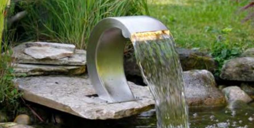 Hoe kan ik het beste mijn waterornament reinigen?